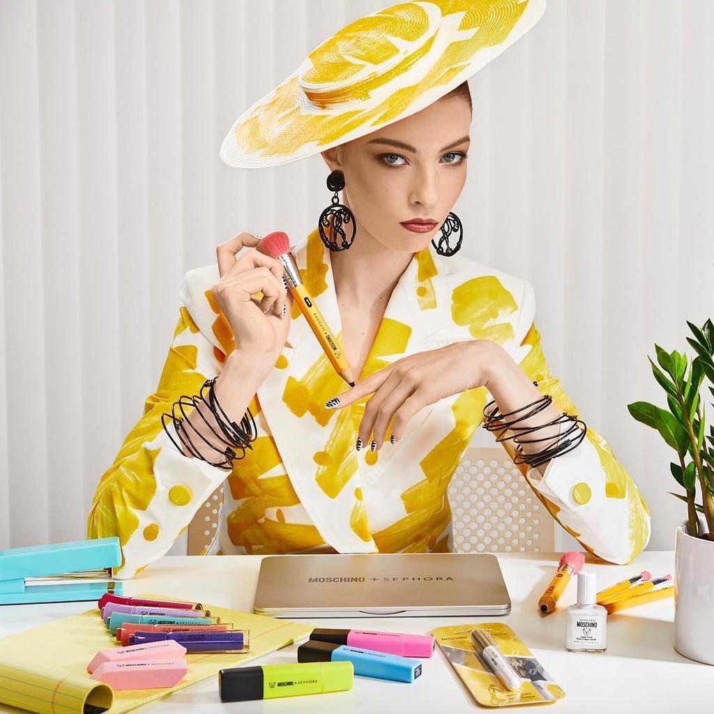 Moschino se alía con Sephora para inventar la colección de maquillaje mas original (y divertida) de la temporada