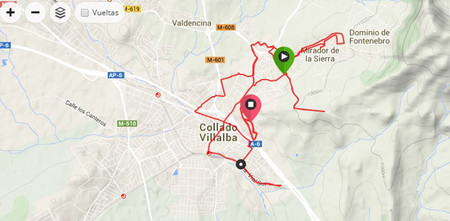 Mapa Villalba