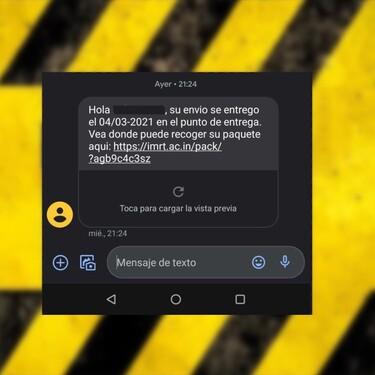El falso SMS de Fedex lleva detrás un sofisticado y peligrosísimo virus de Android: cómo funciona para lograr robar dinero de la app del banco a sus víctimas