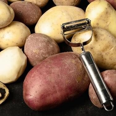 Gadgets-utensilios de cocina: pelador de papas. Cómo usarlo para otras creaciones
