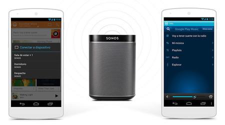 Sonos añade soporte nativo para Google Play Music