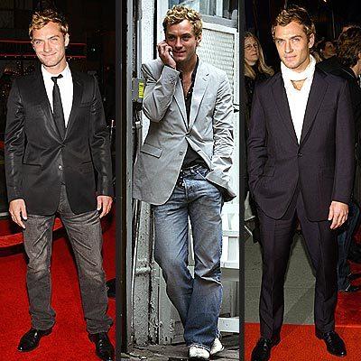 El estilo de Jude Law