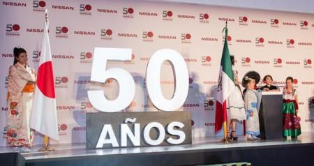 Nissan celebró 50 años de su planta de Cuernavaca
