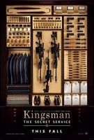 'Kingsman: The Secret Service' de Matthew Vaughn, tráiler y cartel