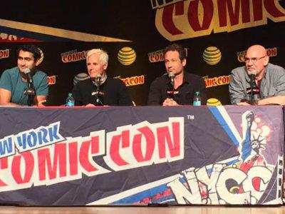 NYCC 2015: 'Expediente X', 'Daredevil, 'Jessica Jones' y 'Outcast' dominaron el tercer día