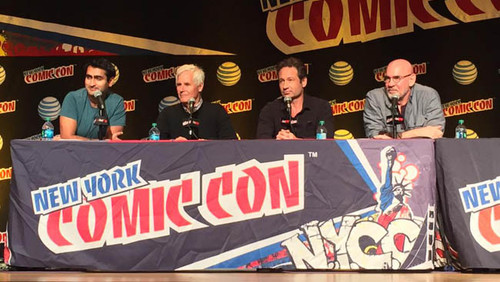 NYCC 2015: 'Expediente X', 'Daredevil, 'Jessica Jones' y 'Outcast' dominaron el tercer día