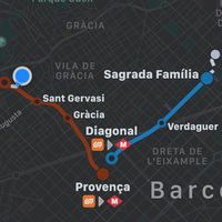 El transporte público de Barcelona ya se integra con Apple Maps