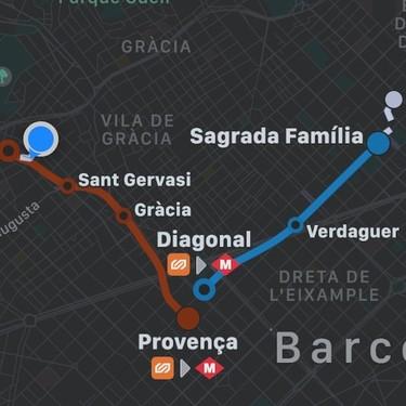 El transporte público de Barcelona ya se integra con Apple Maps [Actualizado]