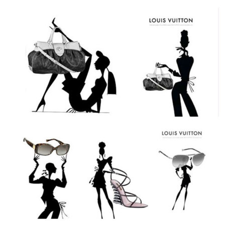 Campaña de James Dignan para Louis Vuitton