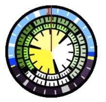 Disk Clock, un reloj-widget peculiar