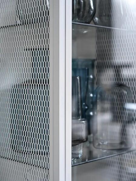 Baggebo Armario Con Puertas Vidrio Metal Blanco 1015446 Ph178059 S5
