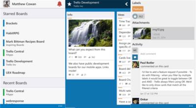 Accede a Trello desde Windows Phone gracias a Trello Central