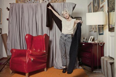 We Are Knitters elige a una modelo de 60 años para su última campaña