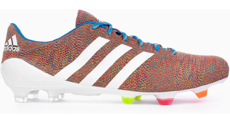 Adidas presenta las primeras botas de fútbol hechas en punto