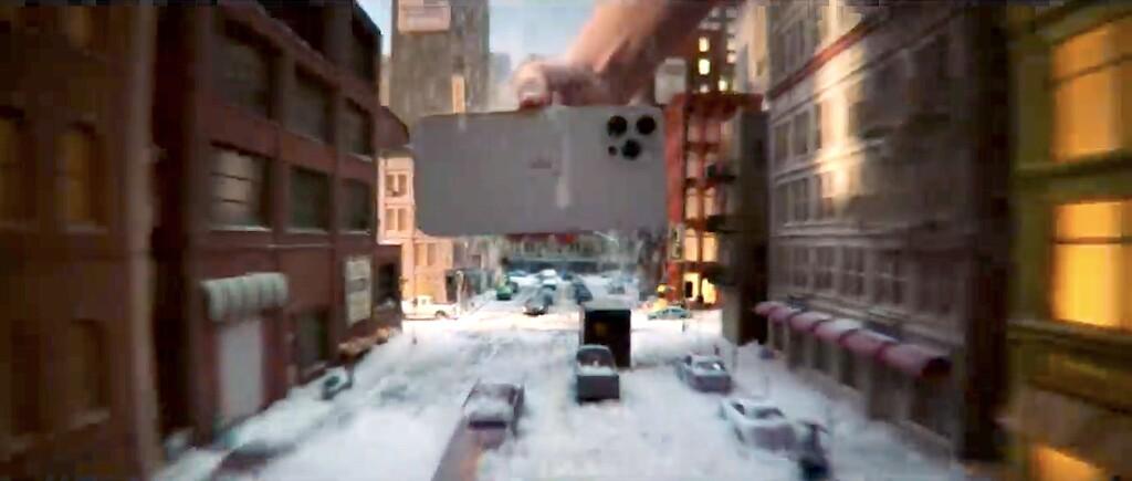 Películas como en las películas, el reciente anuncio de Apple™ sobre el iPhone doce Pro