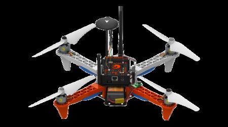 Erle-Core es el dron basado en Ubuntu que además de volar ejecuta aplicaciones