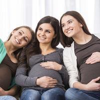 Los estudios lo confirman: el embarazo es 'contagioso'
