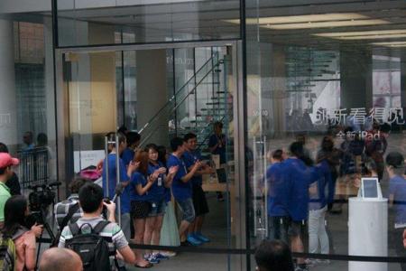 Salida iPad China