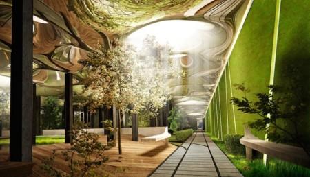 El parque más futurista del mundo busca ser subterráneo y con iluminación solar