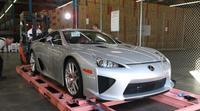 Los Lexus LFA comienzan a llegar entre algodones