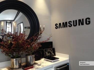 El espacio Samsung en Casa Decor by Raúl Martins y la lavadora a la que solo le falta tender tu ropa