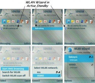 WLAN Wizard, detecta redes inalámbricas con el Nokia N80
