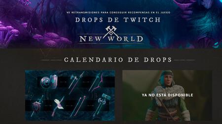 Cómo conseguir drops de New World en Twitch: desbloquea skins viendo streams