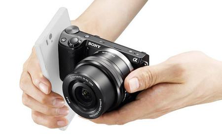 Sony NEX-5T con NFC y Wi-Fi