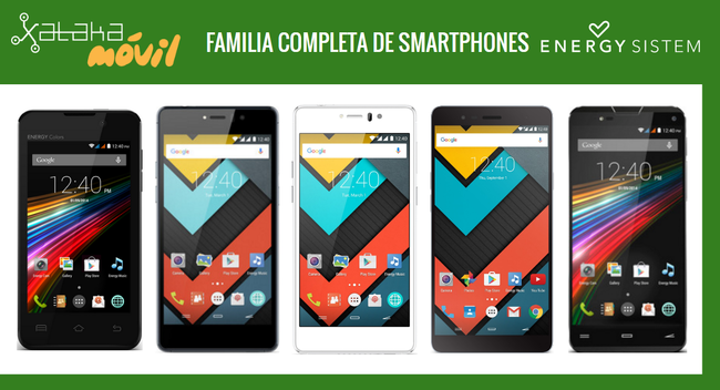 Catalogo Smartphones Energy Phone