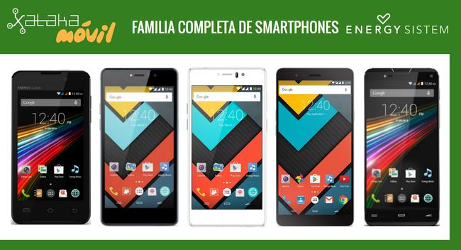 Energy Phone Max 2+ y Neo 2, así quedan dentro del catálogo completo de móviles Energy Phone