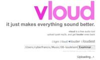 Vloud, sube online el volumen de tus archivos de audio