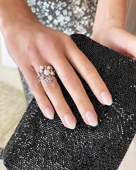 Margot Robbie Tom Bachik Oscar 2021 Nail Art