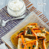 Huachinango en salsa agridulce. Receta fácil y saludable