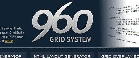 960 Grid System, un framework para CSS
