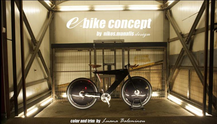 Foto de Bicicleta Eléctrica Nikos Manafis (5/11)