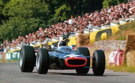 Jackie Stewart BRM Spa 1967