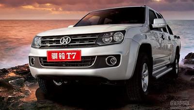 Jiangling T7, la copia china del Volkswagen Amarok