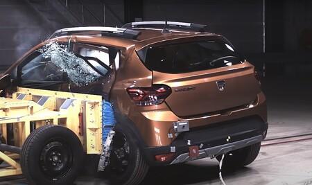 El Dacia Sandero Stepway se lleva solo dos estrellas Euro NCAP a pesar de su buena respuesta en choques. ¿Qué ha pasado?