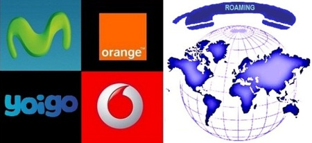 Comparativa Tarifas para hablar y navegar en Roaming cuando viajas fuera de España