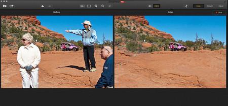Snapheal Pro, una aplicación para eliminar objetos indeseados de las fotografías