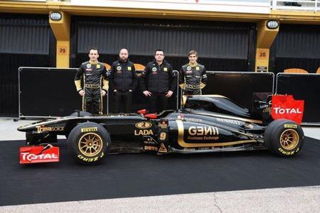 Lotus Renault GP R31, la vuelta del negro y dorado
