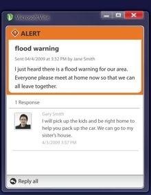 Microsoft Vine, un sistema de notificaciones para emergencias