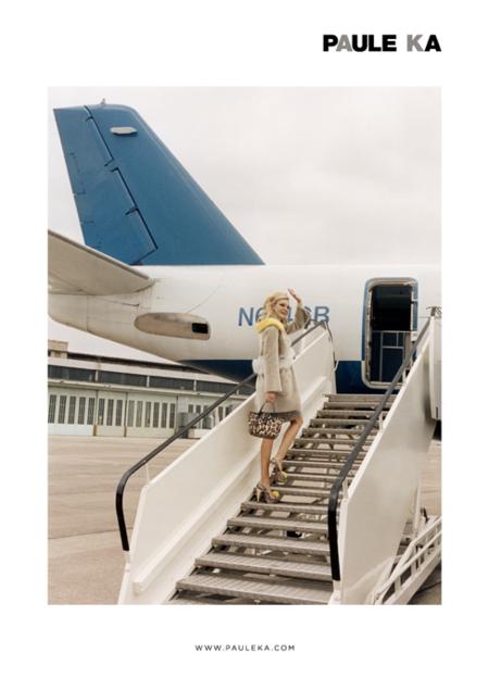 Primera imagen de la campaña Paule Ka Otoño/Invierno 2012-2013: un viaje arriesgado