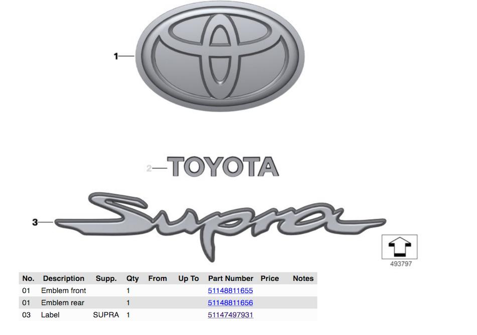 Foto de Toyota Supra 2020 filtrado (2/9)