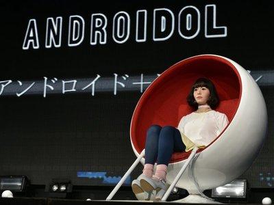 Un androide será el presentador de un programa te TV japonesa