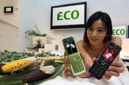 Samsung E200 Eco, con mejoras medioambientales
