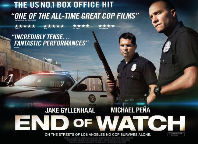 El cartel de Sin Tregua (End of Watch)