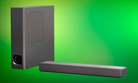Las Rebajas de El Corte Inglés te ayudan a mejorar el sonido de tu smart TV: la barra de sonido Sony HT-MT300 lleva un 40% de descuento y sale por 179 euros
