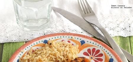 Atún sellado con salsa de cacahuate y chile. Receta