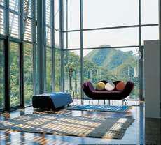 Hotel de diseño en la Gran Muralla China